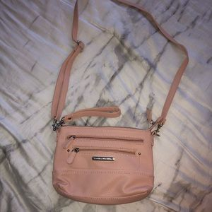 Stone Mountain USA pink leather bag cute NEW